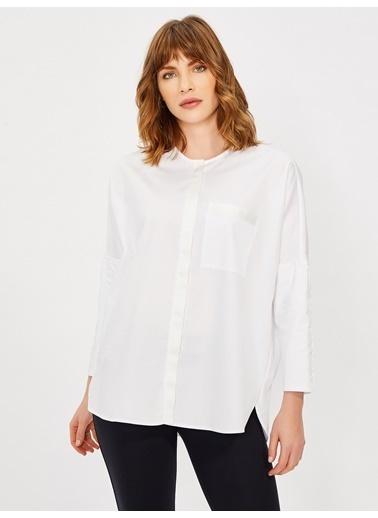 Vekem-Limited Edition Gömlek Beyaz